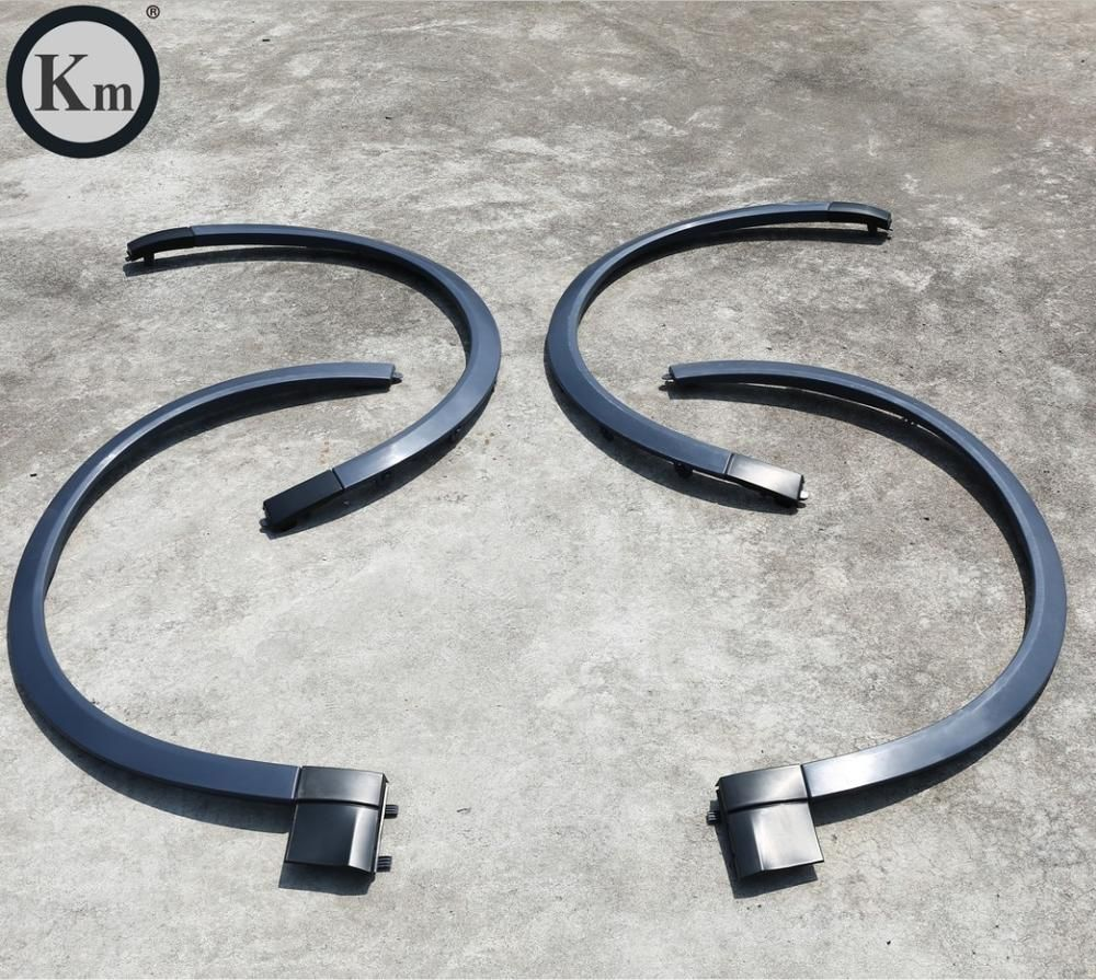 KM for wheel eyebrow for 2018-up years Cayenne 9Y0 pp material Car