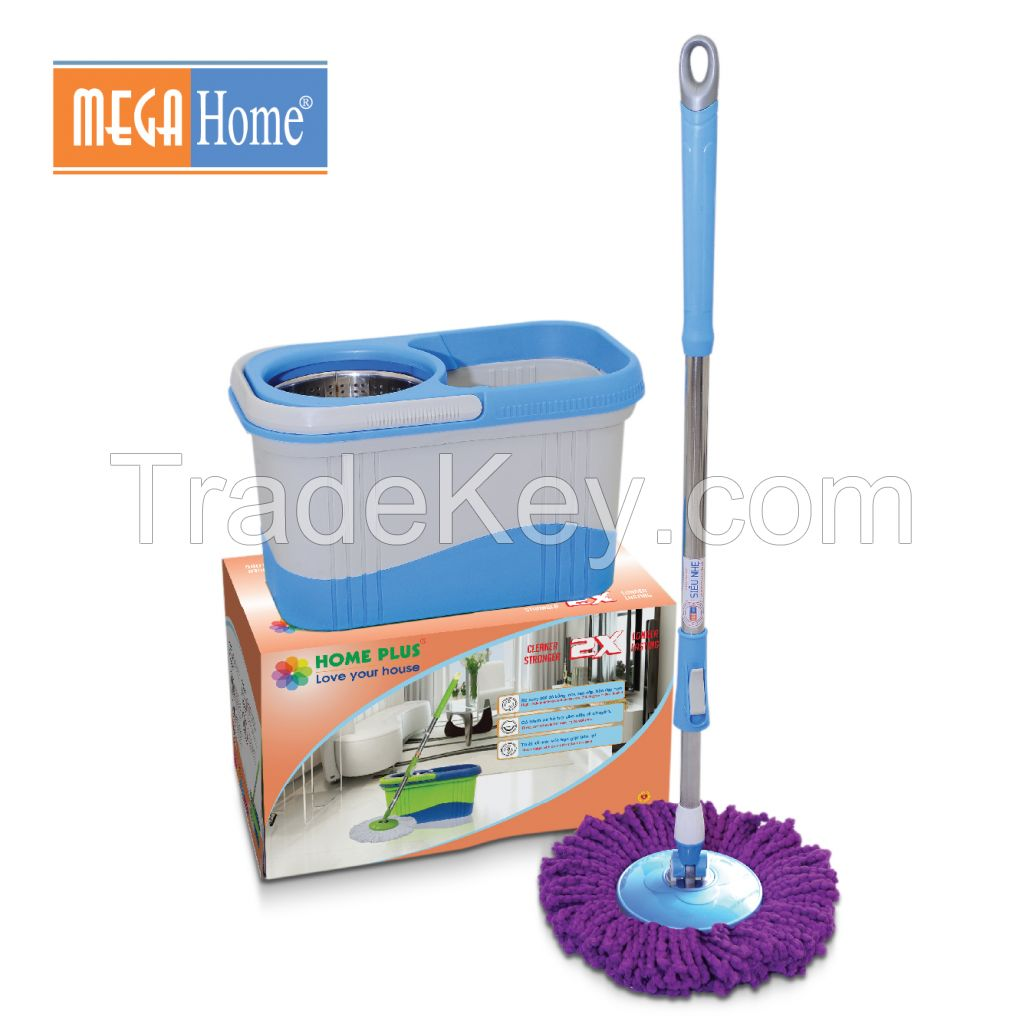 Homeplus X2 spin mop cleaning product