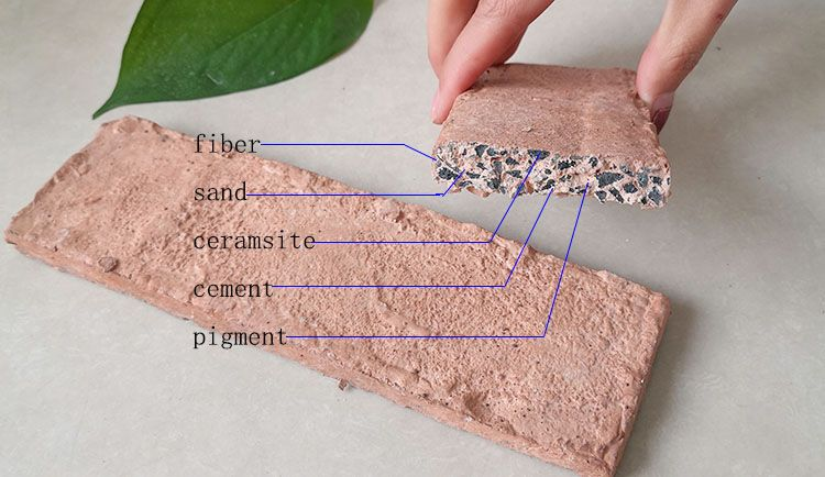 Heat Resistance House Wall Brick Veneer