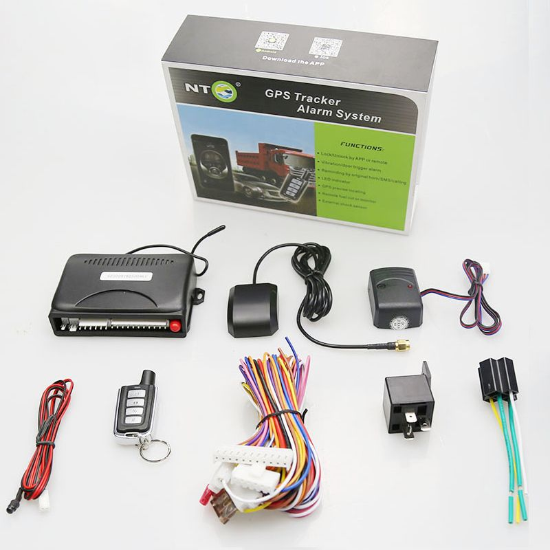 New car gps system alarm gsm gps car anti-hijacking mobile gps tracker
