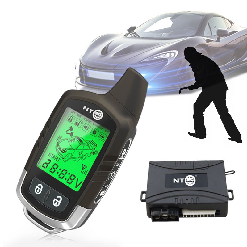 New Remote Engine Start Auto with Central Door Locking two way car ala