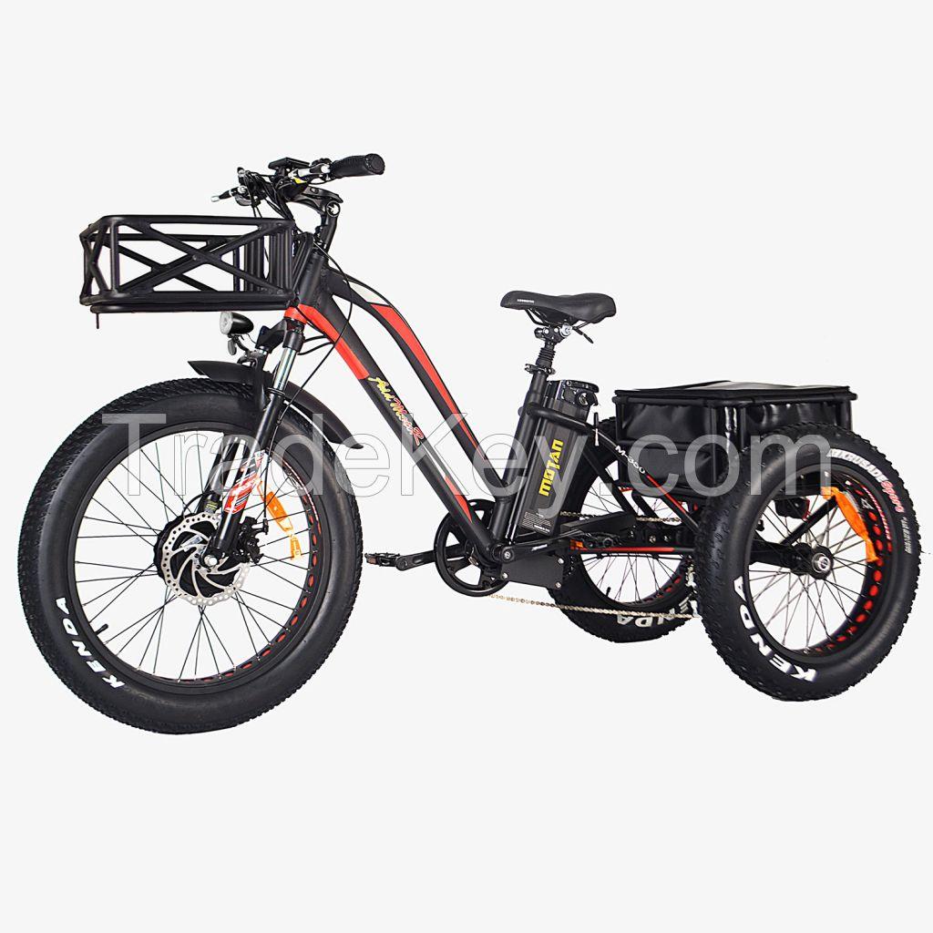 Addmotor MOTAN M-350 P7 Electric Fat Trike 750W 3 Wheel Cargo Bike
