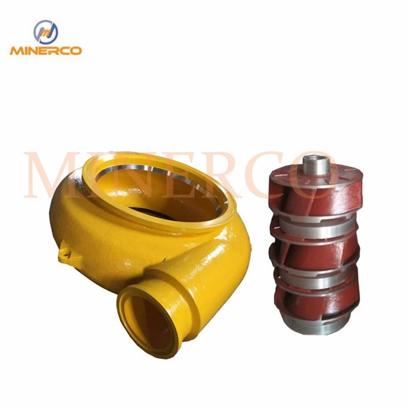 Wear-Resistant Centrifugal Pump Spare Parts Volute