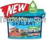 Bitumen universal sealant BITAREL ECO (water-based, solvent-free, eco friendly)