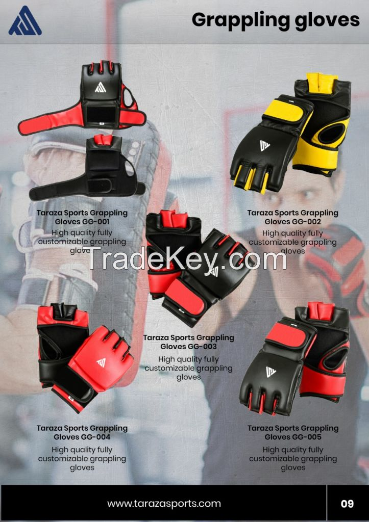 Martial Arts and Boxing Gears