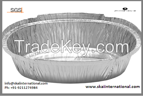 Aluminium Foil Containers for food packaging storing baking