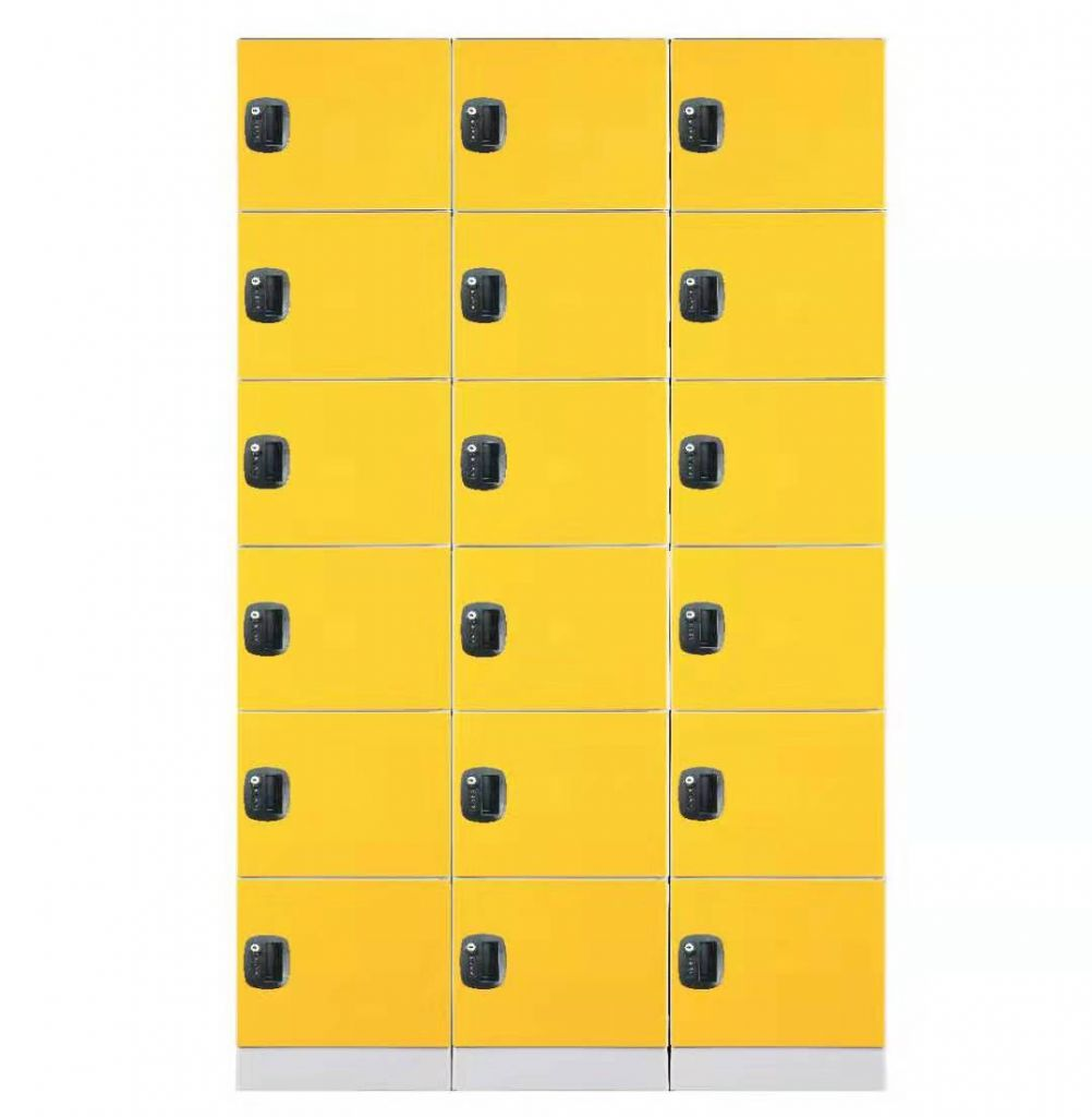 supermarket ABS plastic locker