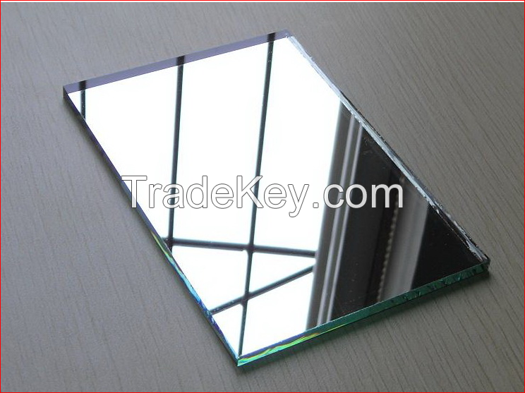 Silvered Mirror Glass