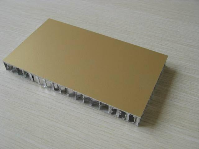 Honeycomb aluminum plate
