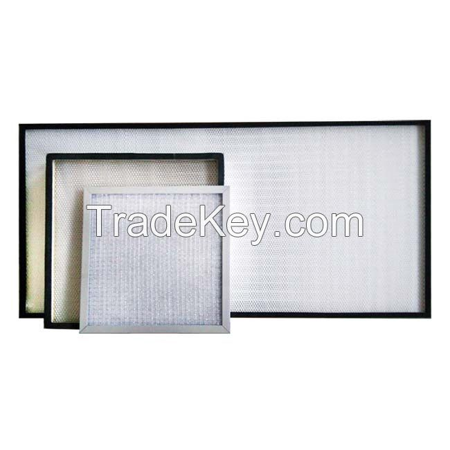 H13 air purifier hepa filter material for cleanroom
