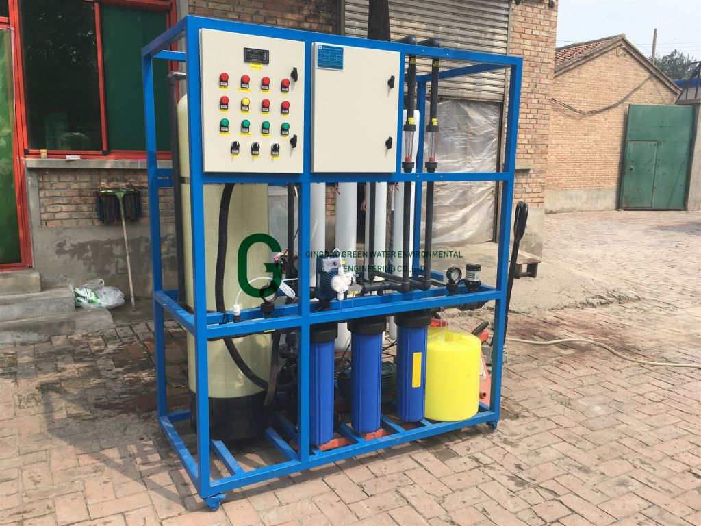 Water Treatment Plant with Desalination Reverse Osmosis System