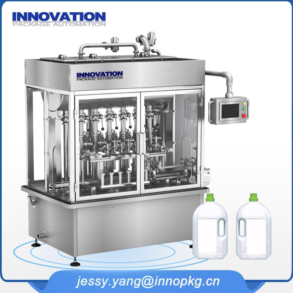 Full Automatic liquid detergent fiiling machine