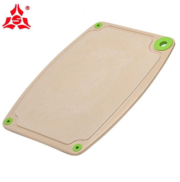 Double Sided Classic Household Eco Friendly Rice Husk Made Chopping Block