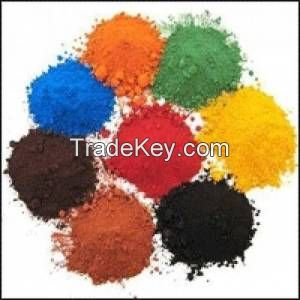 pigment oxides colors