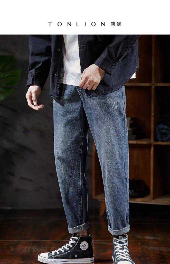Tang shi spring and autumn men's jeans