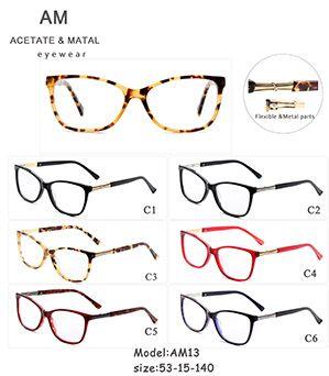 Metal Acetate Eyeglasses Frames AM13