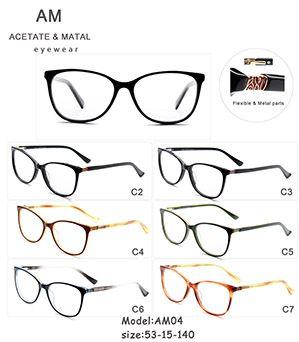 Metal Acetate Eyeglasses Frames AM04