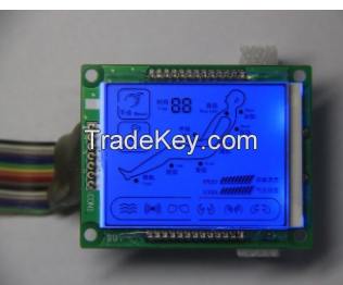Graphic LCD  Display for Consumer electronics and Financial