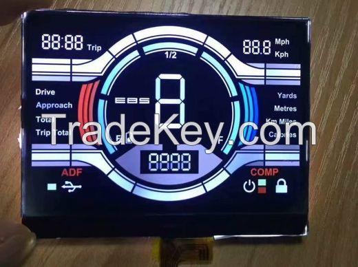 VA Monochrome LCD Display Screen