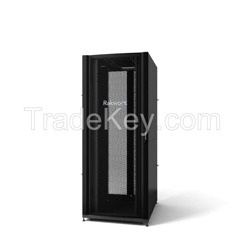 server rack 19'' cabinet enclosure 600mm wide 1070mm deep floor standing rack