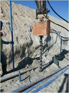 well drill(Hydraulic auger)
