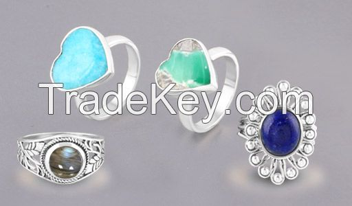 Wholesale Silver Gemstone Jewelry