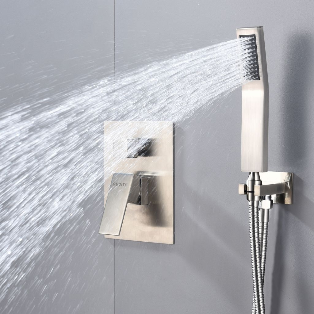 Hot sale Brushed Nickel Rain Shower Faucets