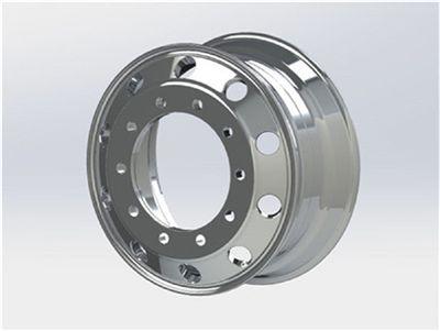 Diegowheels 22.5*8.25 Casting Flow Formed Aluminum Alloy Wheels