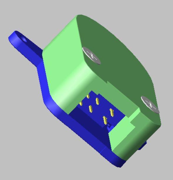 Moto rotation speed sensor