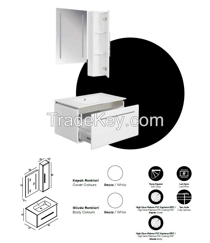 Dicle (Exclusive Series Bathroom Vanity)