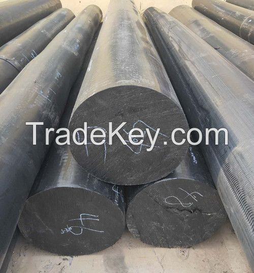 manufacturer of high quality large  PE solid rod for valves pressing
