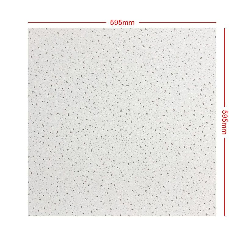 Latest 600X600 Acoustic Mineral Fiber Board/Ceiling Tiles