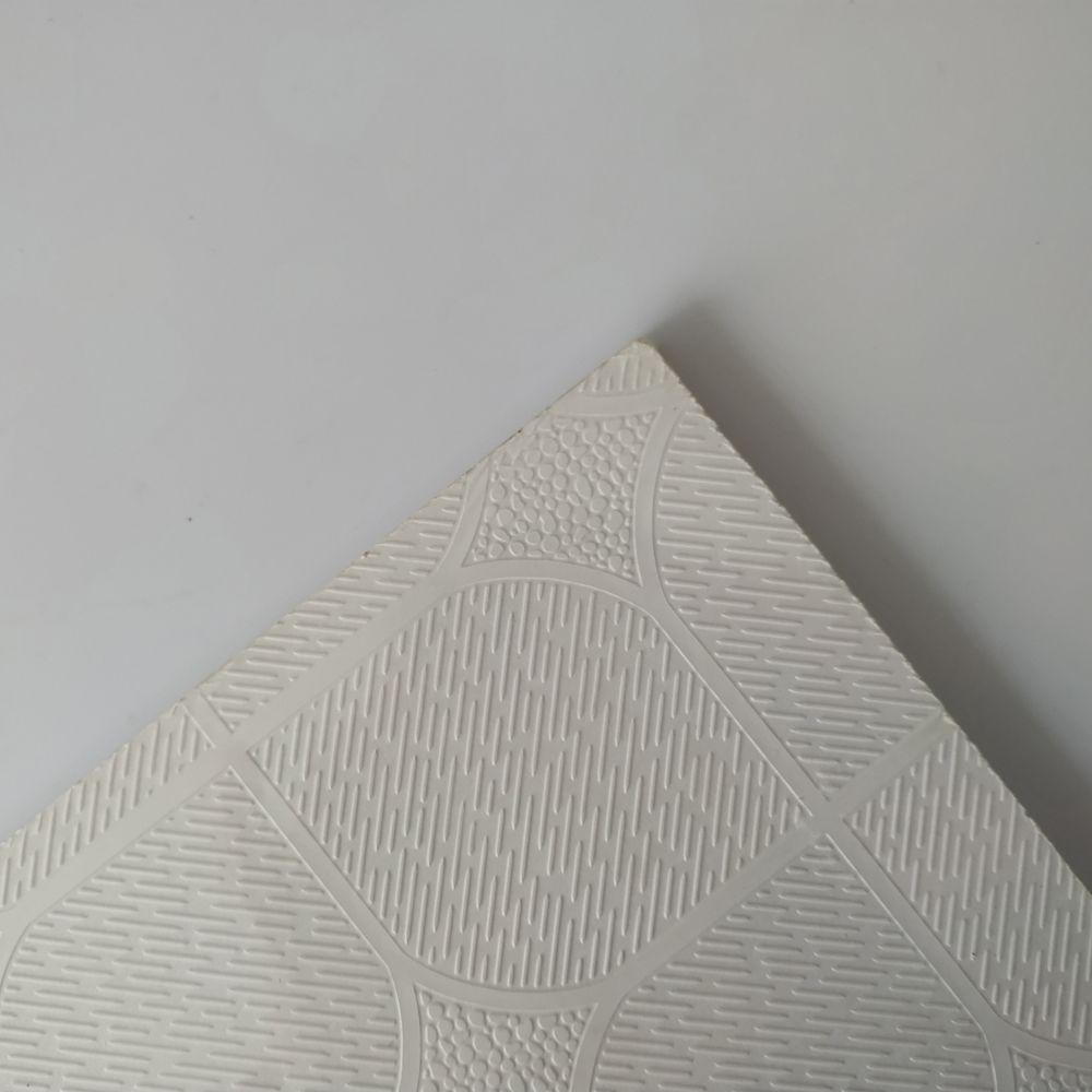 Waterproof PVC Laminated Gypsum Ceiling Tiles/ PVC Gypsum Ceiling Board For Decor