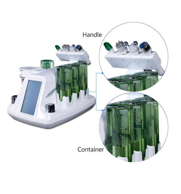 4 in 1 Hydrafacial Skin Peeling Machine