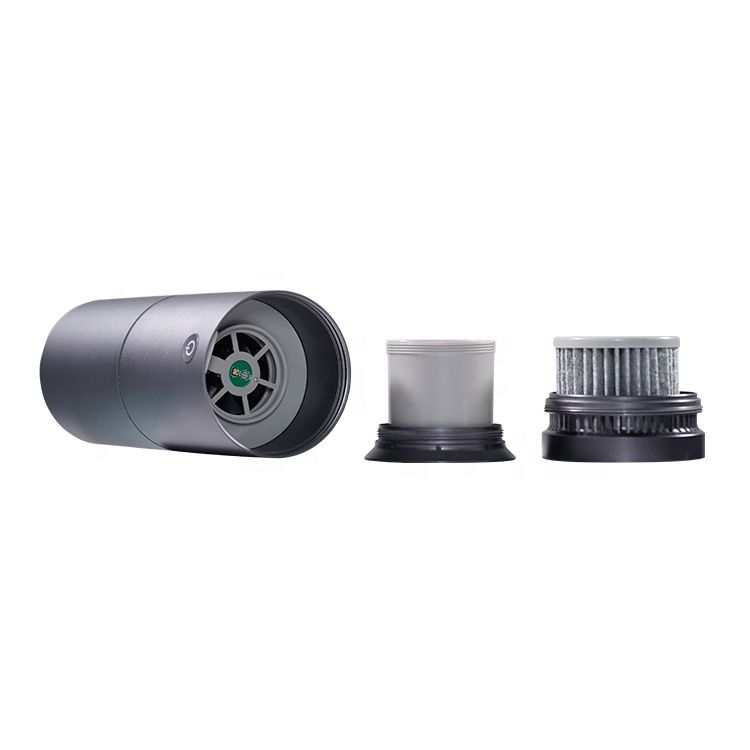 Office use UVC LED sterilization portable uv led mini air purifiers