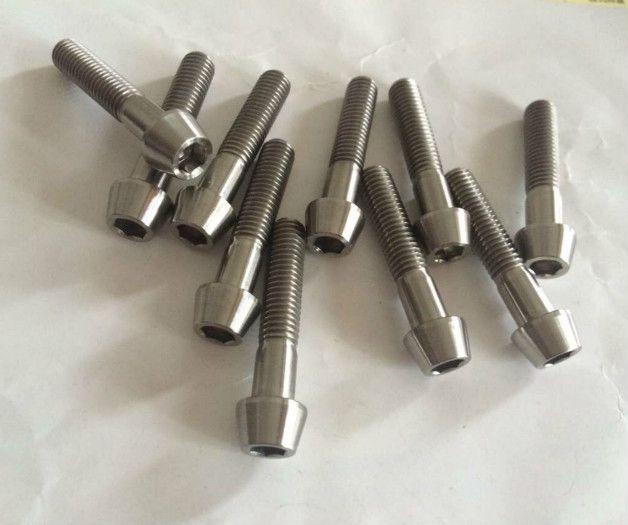 Titanium Alloy Wheel Nuts 6al4V Grade 5
