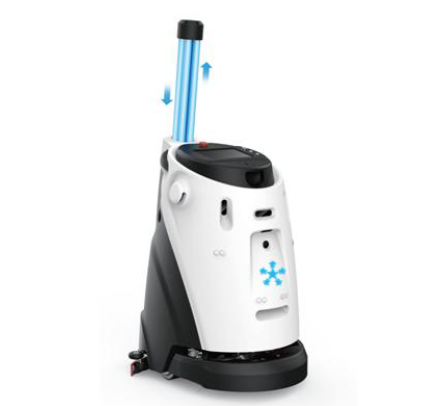 RoboCT cleaning and disinfection robot