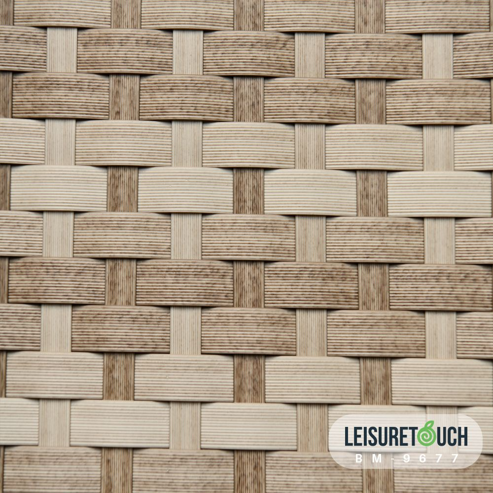 Synthetic Rattan Weaving Material For Outdoor Furniture