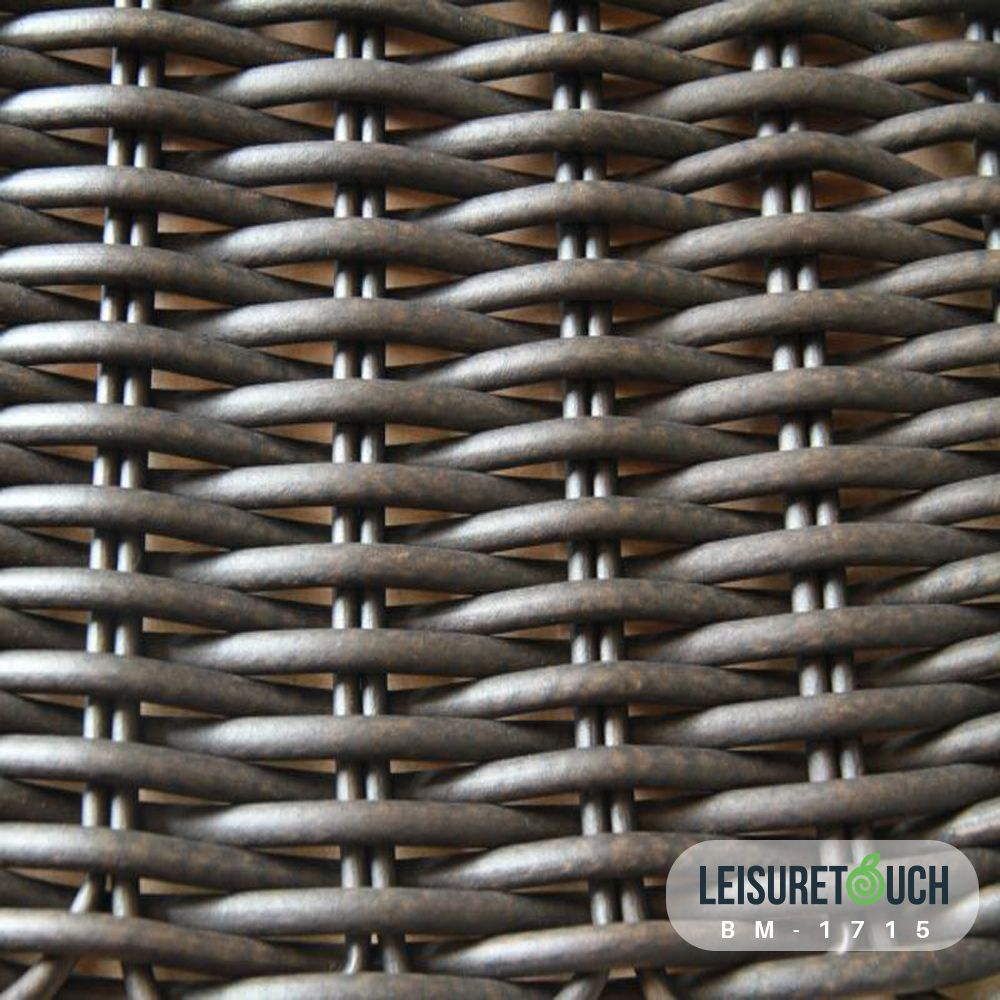 Hot Sale Outdoor Furniture Poly Rattan Wicker Material