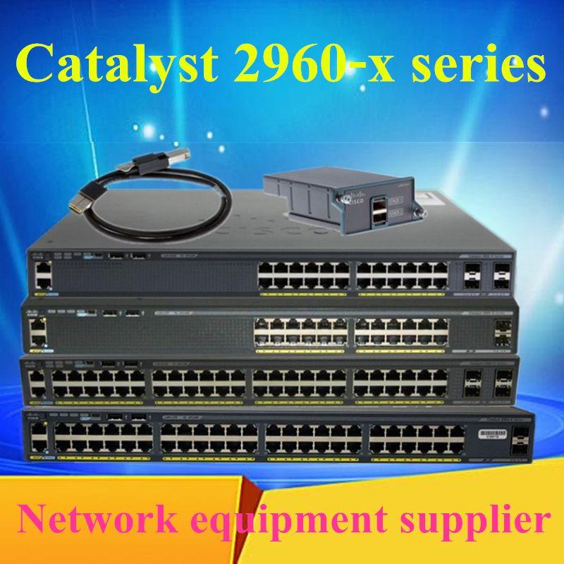 WS-C2960X-24PS/24TS/48TS/48LPS/48FPS-L WS-C2960XR-24TS-I WS-C2960XR-24PS-T WS-C2960XR-48TS-I WS-C2960XR-48FPD-I  network switches