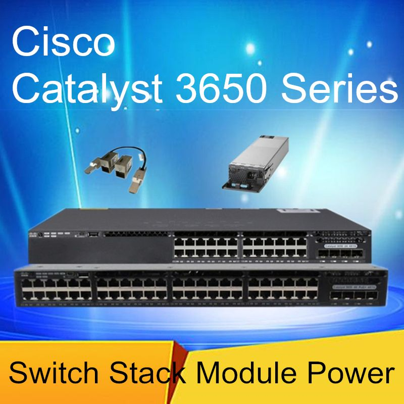 WS-C3650-24TS/24PS/48TS/48PS/24TD-L/S Network switch