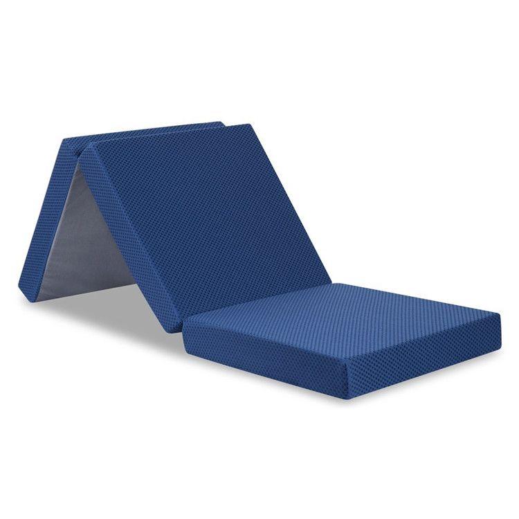 gel memory foam HR foam folding mattress