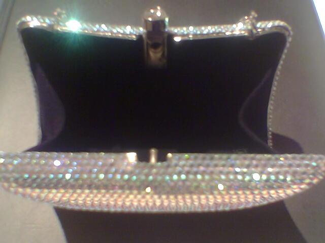 real crystal handbag/ purse