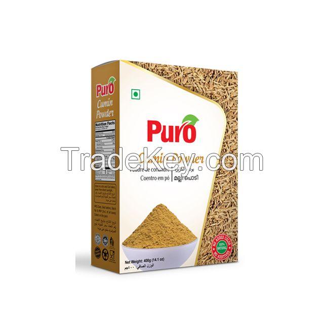 Puro Spice Powder (200 gm, 400 gm, 1000 gm) Paper pack