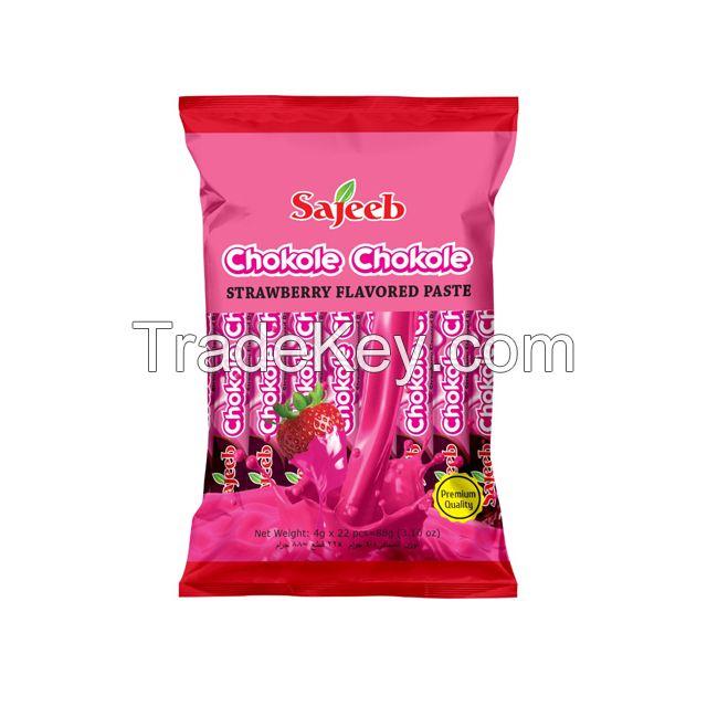 Sajeeb Chocolate Paste (Chocolate, Strawberry and Milk Flavor)