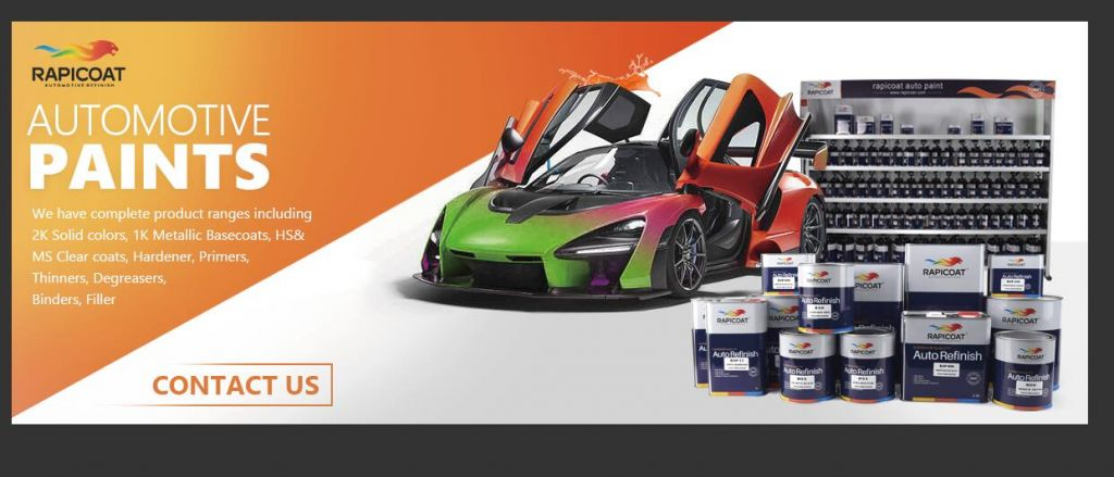 2020 new car paint for after sales market
