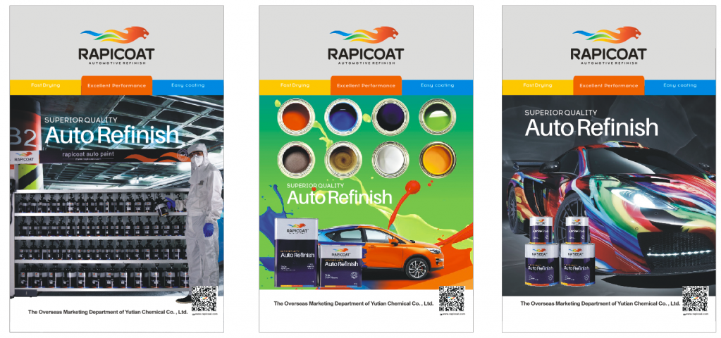 good quality automotive paint equivalent to European Korean and American quality
