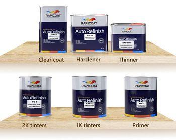 hard paint film polyurea coating 2H auto spray car paint