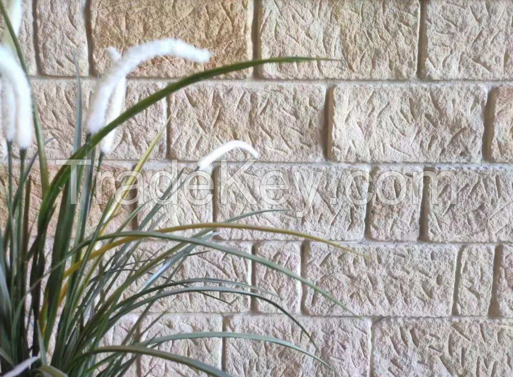 Natural stone wall cladding - Australian sandstone for interior and exterior walls