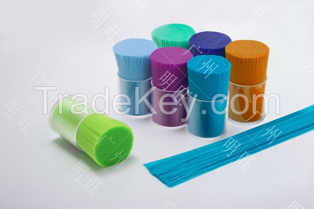 Popular sale soft PBT PA6 PA66 bristle for vacuum cleaner brushes fiber synthetic filaments